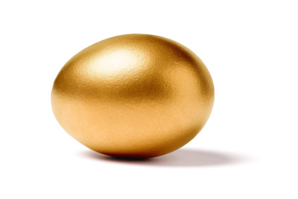 golden egg, concept of Making Money